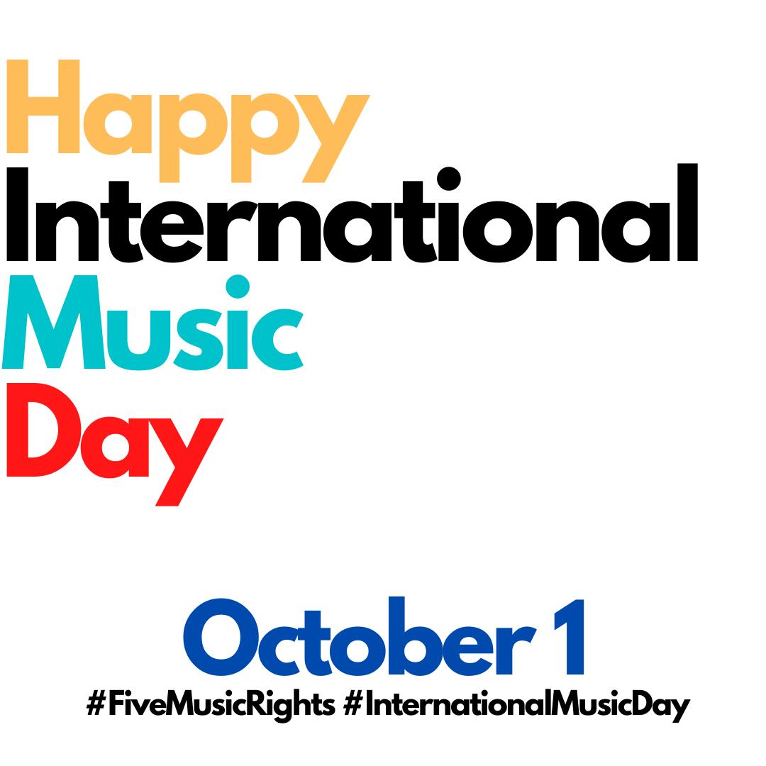 Happy International Music Day MWN